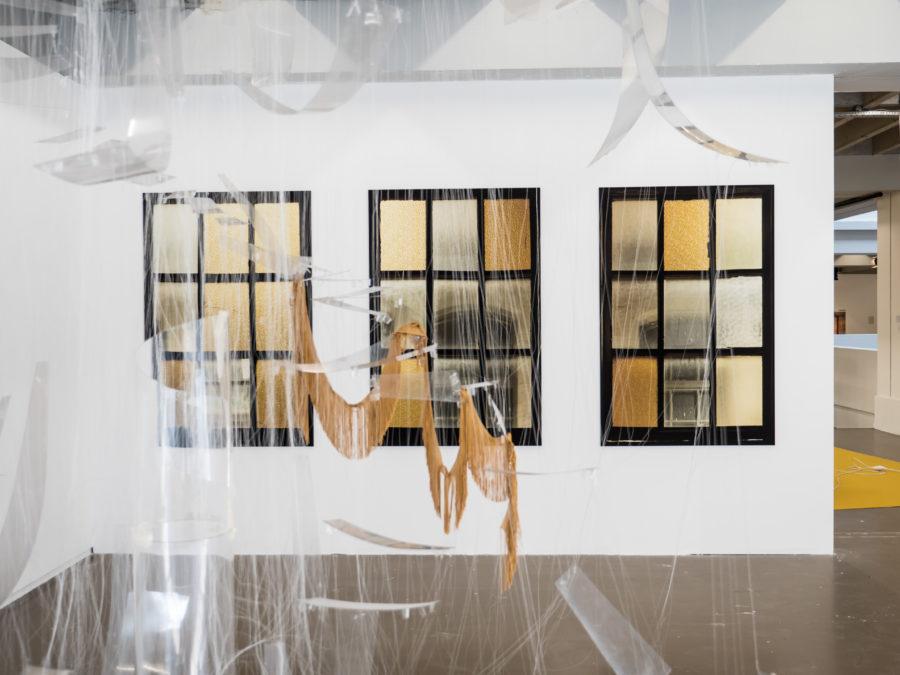 Bat Sheva Ross, Sarah Smolders Vue de l'exposition Fried Patterns du 05 au 08 septembre 2019 commissariat de Tenzing Barshee dans le cadre du Brussels Gallery Weekend Photo ©StokkStudio (@AndriSoren)