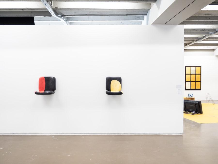 Charlotte vander Borght Vue de l'exposition Fried Patterns du 05 au 08 septembre 2019 commissariat de Tenzing Barshee  dans le cadre du Brussels Gallery Weekend Photo ©StokkStudio (@AndriSoren)