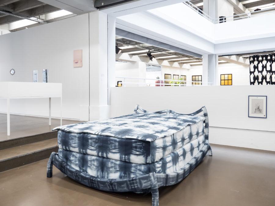 George Rippon Vue de l'exposition Fried Patterns du 05 au 08 septembre 2019 commissariat de Tenzing Barshee  dans le cadre du Brussels Gallery Weekend Photo ©StokkStudio (@AndriSoren)