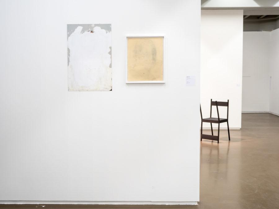 Hadrien Bruaux, David Tobón Vue de l'exposition Fried Patterns du 05 au 08 septembre 2019 commissariat de Tenzing Barshee  dans le cadre du Brussels Gallery Weekend Photo ©StokkStudio (@AndriSoren)