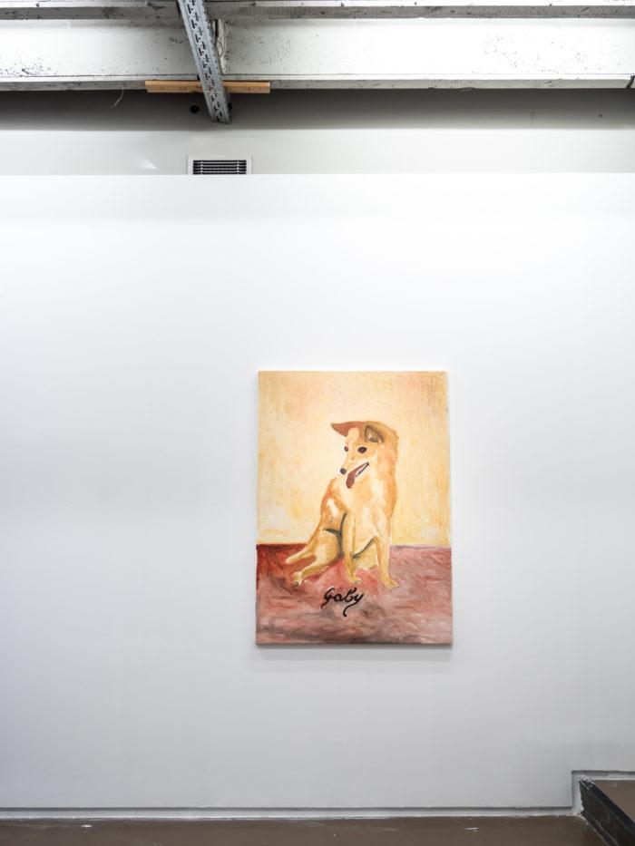 Laurent Dupont Vue de l'exposition Fried Patterns du 05 au 08 septembre 2019 commissariat de Tenzing Barshee  dans le cadre du Brussels Gallery Weekend Photo ©StokkStudio (@AndriSoren)