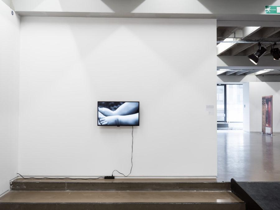 Lien Hüwels Vue de l'exposition Fried Patterns du 05 au 08 septembre 2019 commissariat de Tenzing Barshee  dans le cadre du Brussels Gallery Weekend Photo ©StokkStudio (@AndriSoren)