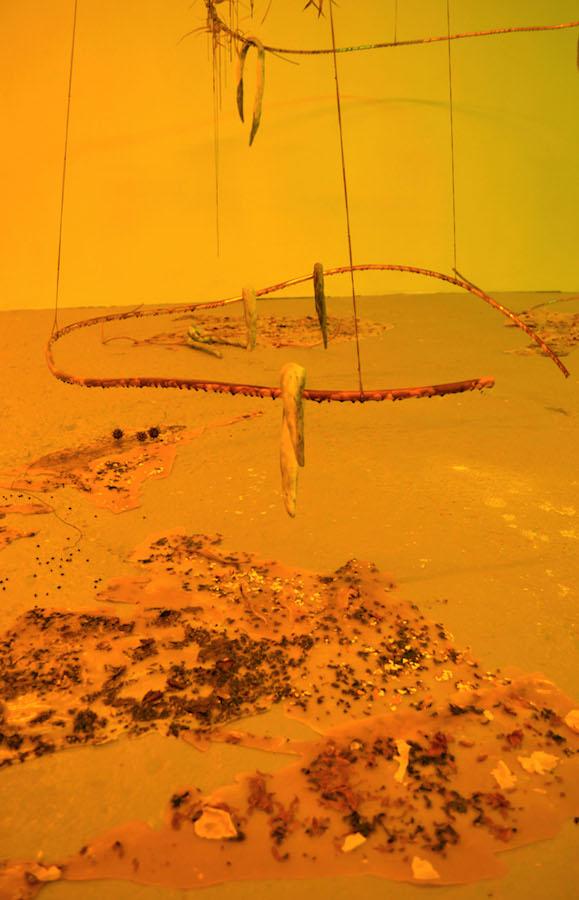 Charlotte Heninger  Vue de l'exposition En dehors des limites du lac futur