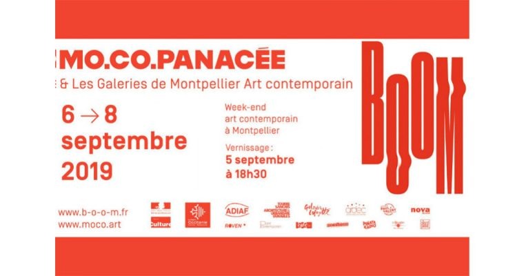 BOOM WEEK-END DE L'ART CONTEMPORAIN – 05 AU 08/09 – MONTPELLIER