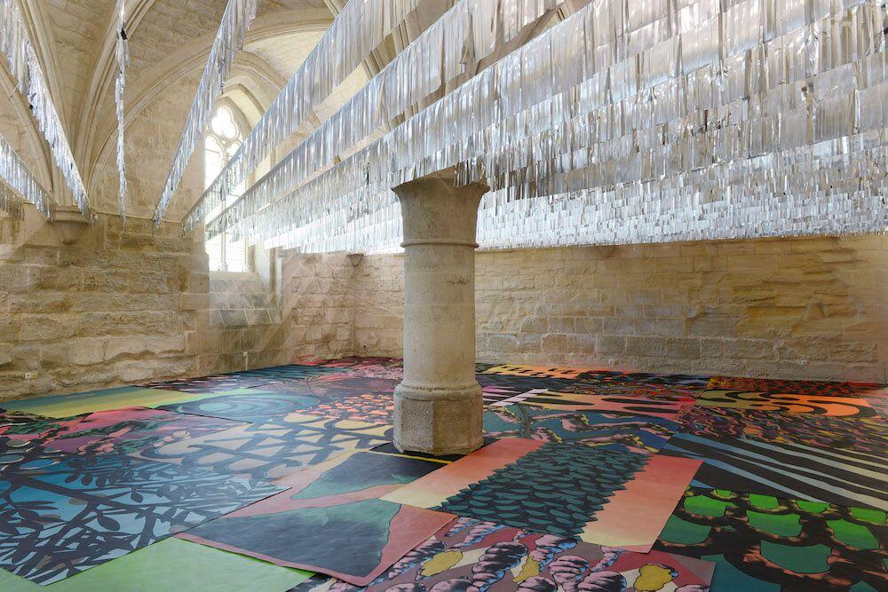 La Traversée (des flows) Exposition «Electric Ladyland» de Julien Colombier à l'abbaye de Maubuisson du 19 mai au 5 octobre 2019Photo C. Brossais-CDVO
