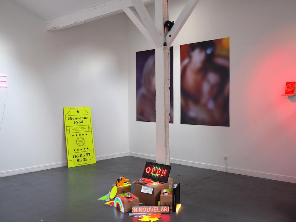 """Vue d'exposition de sortie de résidence, """"Désir d'achat"""", VERSION D'ESSAI 2018, du 31 janvier au 16 février 2019 AU LIEU"""