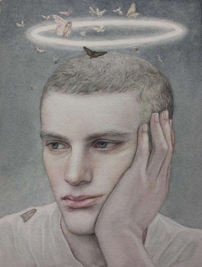 Nikolay Tolmachev, Shining, 26x19cm, aquarelle sur papier, 2019.jpg