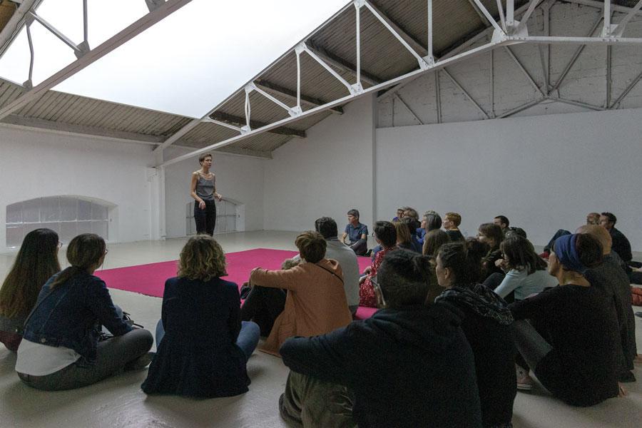 Exposition Signal mouvement de Violaine Lochu  du 06 septembre au 04 octobre 2019, Ateliers Vortex Dijon