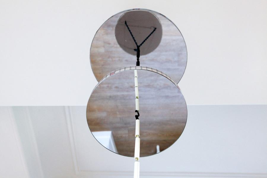 Alan Schmalz, La ronde (S'assurer du pire), (détail), 2019, centre d'art Le Lait, Albi, photo Phœbé Meyer