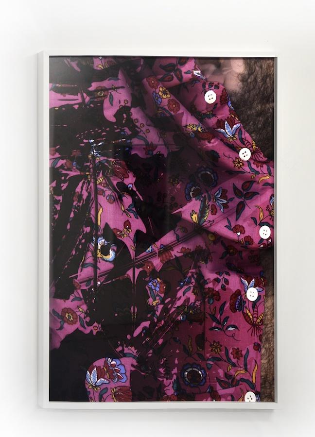 Vue d'exposition Les Chemises de mon père de Baptiste Rabichon au CACN - centre d'art contemporain de Nîmes Courtesy artiste Photo CACN