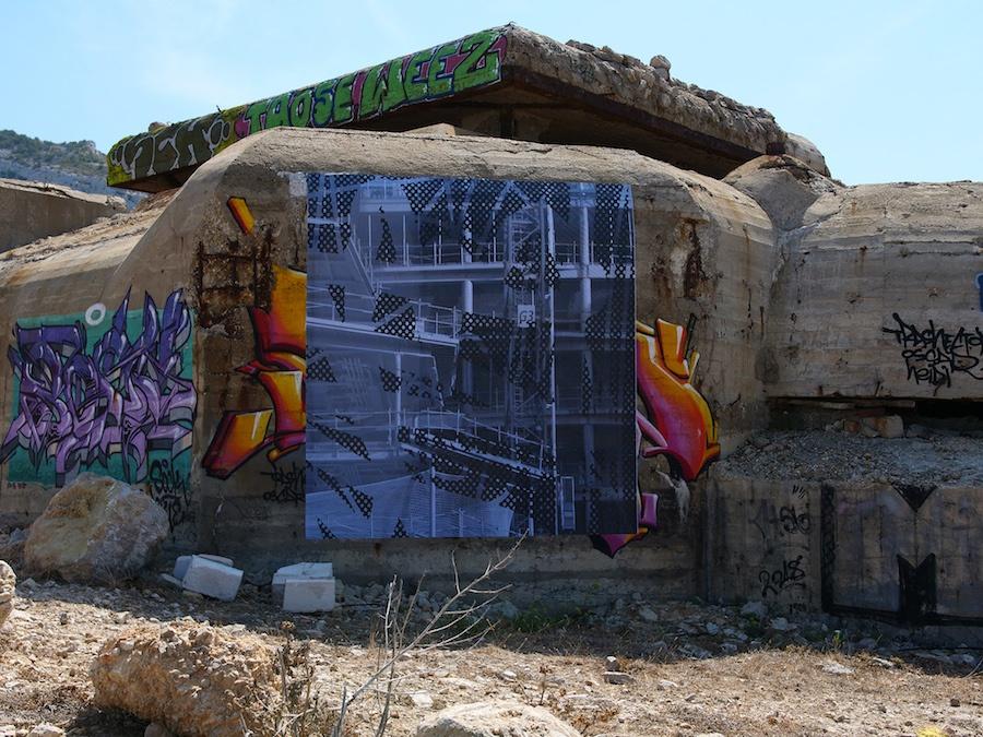 Bérénice Lefebvre Exposition Off Art_O_Rama 2019 par Le Collective Le 01 Septembre 2019 dans Les Trois Blockhaus de L'escalette, Marseille