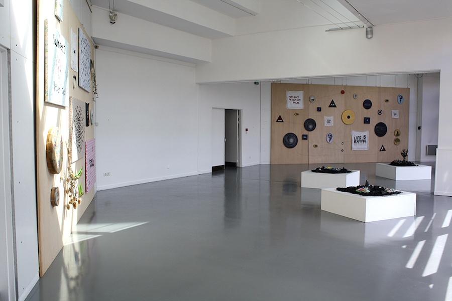 Céline Tuloup, vue de l'exposition Pythie