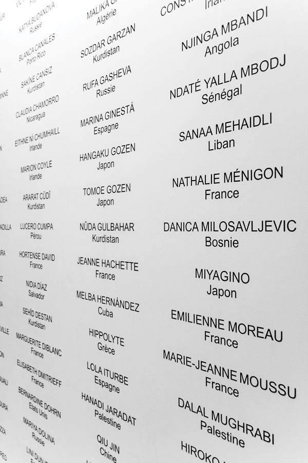 Vue de l'exposition Faut-il que sa colère soit exemplaire ? de Fanny Durand aux Ateliers Vortex Photo Cécilia Philippe/ Les Ateliers Vortex