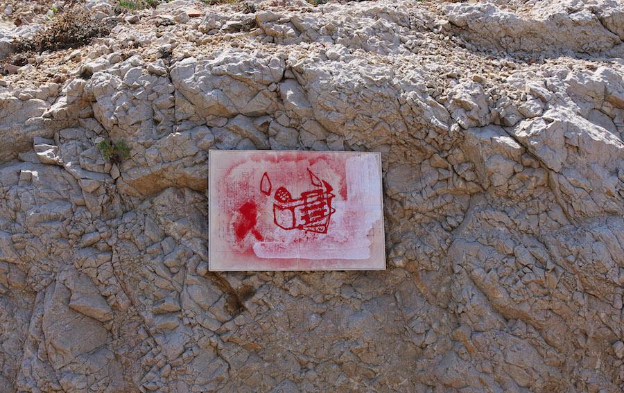 Ivan Chavaroche Exposition Off Art_O_Rama 2019 par Le Collective Le 01 Septembre 2019 dans Les Trois Blockhaus de L'escalette, Marseille