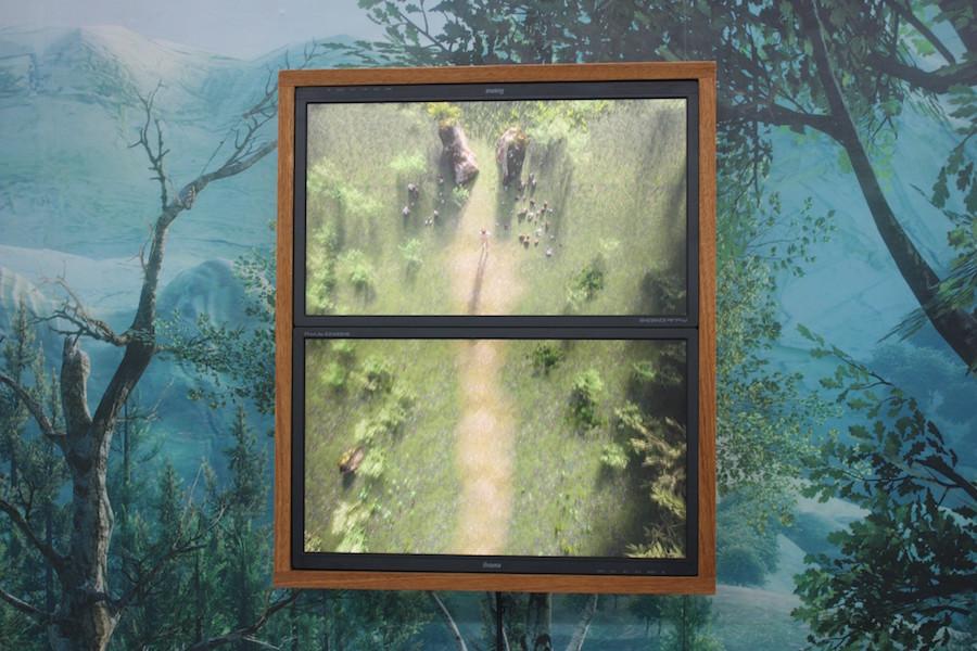 Vue d'exposition Les Trois Grâces et autres récit de Lucas Seguy à galerie RDV, Nantes
