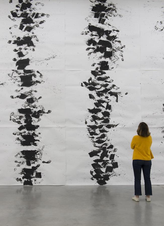 Marcel Dinahet, Ensemble de dessins, 2018-2019. Exposition Marcel Dinahet Sous le vent, 14 juin - 10 novembre 2019, Frac Bretagne, Rennes. Crédit photo : Marc Domage