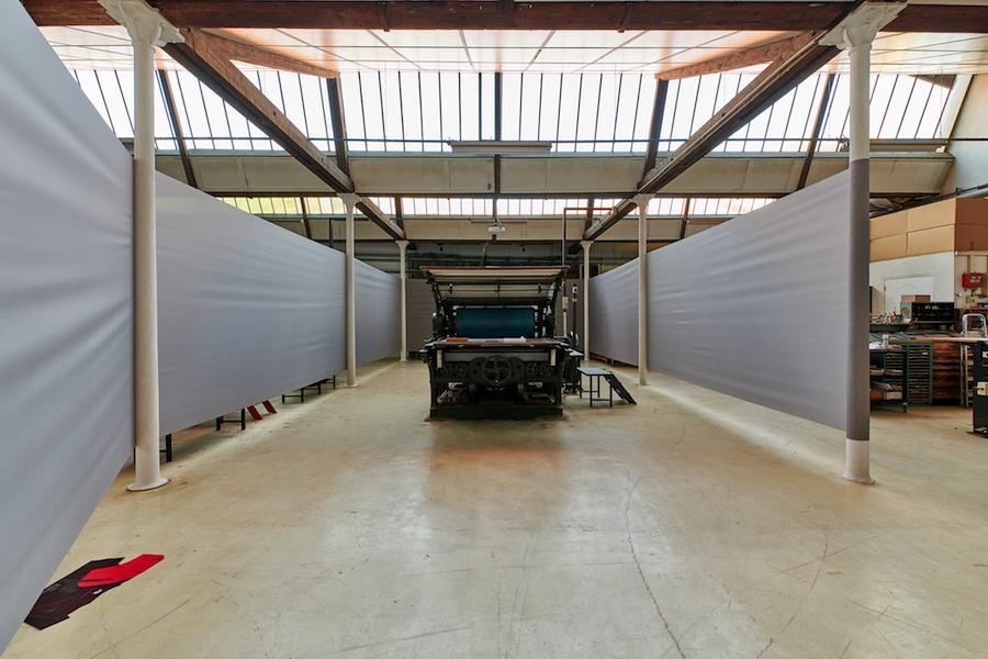 Vue d'exposition Mark Geffriaud – Raúl D. – Urdla, Villeurbanne. Photo Jules Roeser