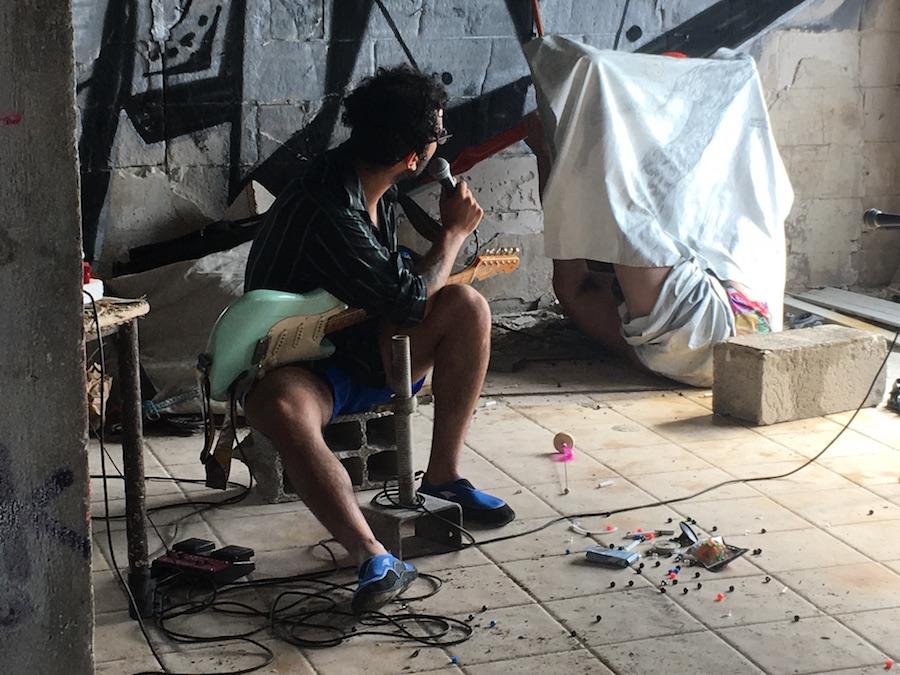 Mehdi Besnainou et Yoan Sorin Exposition Off Art_O_Rama 2019 par Le Collective Le 01 Septembre 2019  dans Les Trois Blockhaus de L'escalette, Marseille