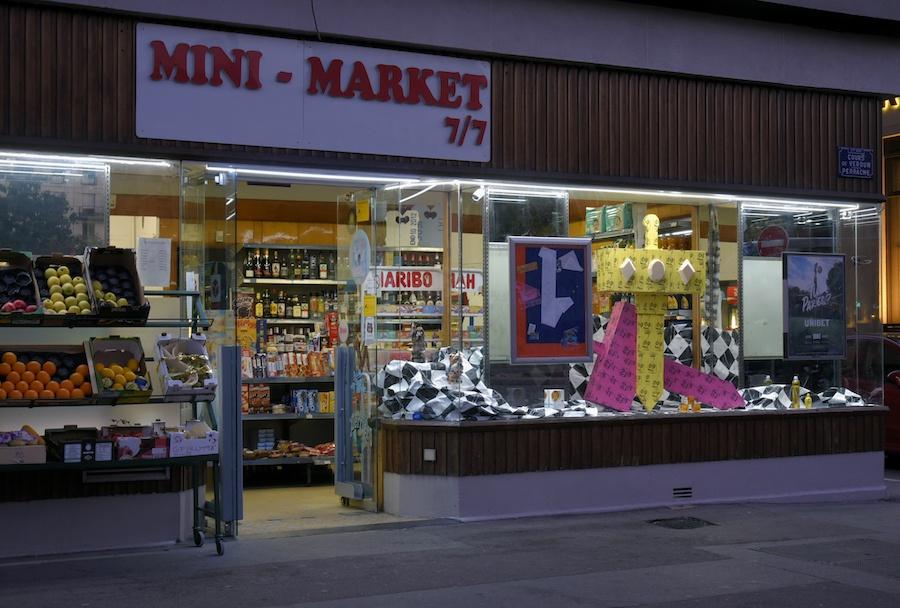 Exposition collective Quelqu'un d'autre t'aimera dans le cadre du projet Minimarket 7/7 au 32 cours Verdun, Lyon jusqu'au 05 janvier 2020