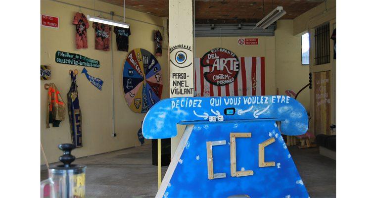 ANAÏS TOUCHOT, C.C.C  EN DIRECT / Exposition C.C.C d'Anaïs Touchot, du 27 septembre au 27 décembre 2019, à la galerie Quinconce – Montfort-sur-Meupar