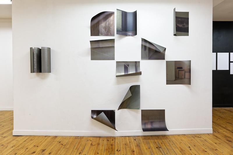 Vue d'exposition Tracks / Repeat d'Aurélie Pétrel. Courtesy Ceysson & Bénétière Photo C. Cauvet