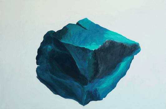 Coline Gaulot, Laure, 2018. Acrylique sur toile, 80 x 120 cm Courtesy artiste. Photo Claire Baudou