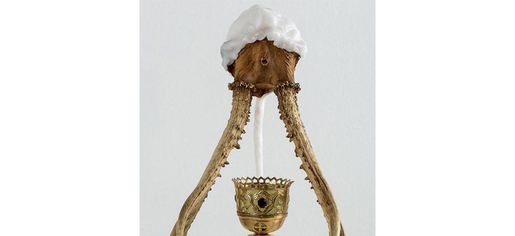 Ilya Fedotov-Fedorov, Miniature museum of poisons, 2018. 43 x 28 x 30-cm copyright et courtesy artiste et Anna Nova Gallery