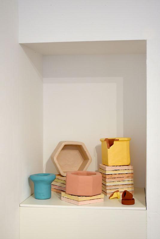 Vue d'exposition TOUT VIENT DE L'EAU de l'artiste Florence Schmitt à KOMMET – Lieu d'art contemporain (Lyon)