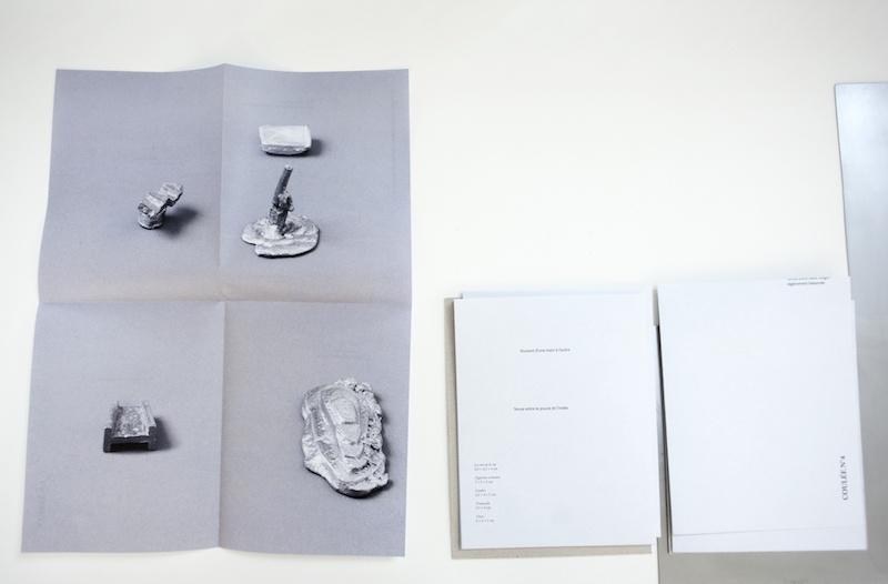 Léa Bouttier, Vue d'exposition Paysages manufacturés, L'Aqueduc. Photo Clémentine Chalançon