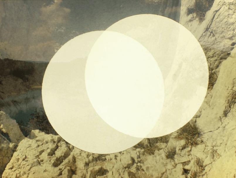 Ludovic Sauvage Plein soleil 2014. Diaporama, 81 diapositives perforées