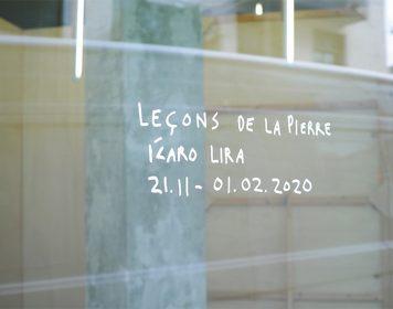 Ícaro Lira, leçons de la pierre