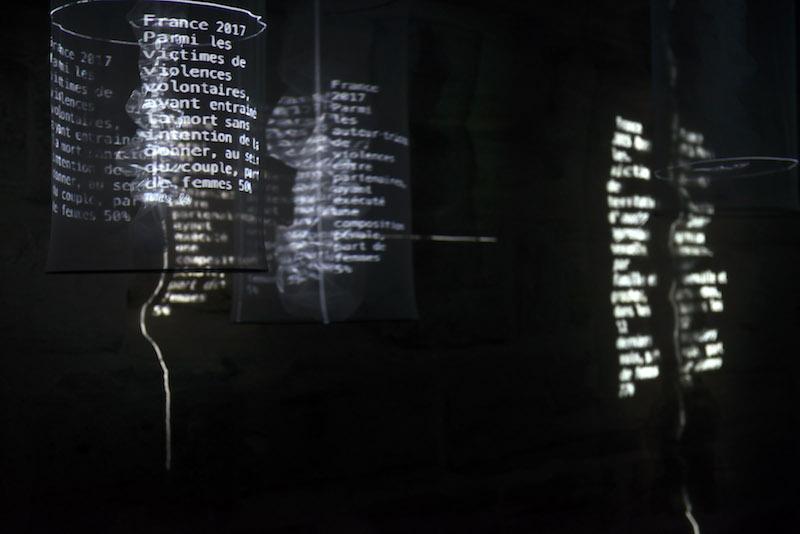 Collectif Iakeri (A.Guerlot-Kourouklis, J.Royo-Letelier, A.Wilhelm), Murs invisibles                  détail, 2018-2019, crédit photo Catherine Brossais