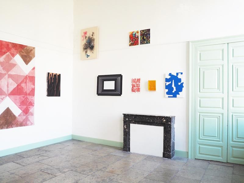 Exposition Grammaires fantômes / Phantomgrammatiken  du 20 novembre 2019 au 11 février 2020 à la Maison de Heidelberg Montpellier.