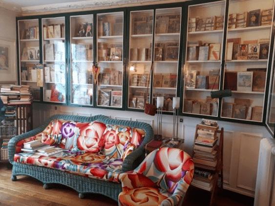 La bibliothèque du 20 boulevard Gambetta, le 20 avril 2019