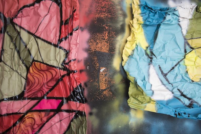 RESO, atelier, Jardin rouge, Avril 2019