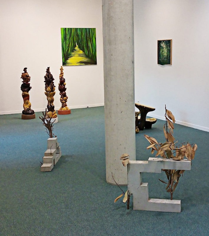 Vue d'ensemble de l'exposition DE NATURA RERUM