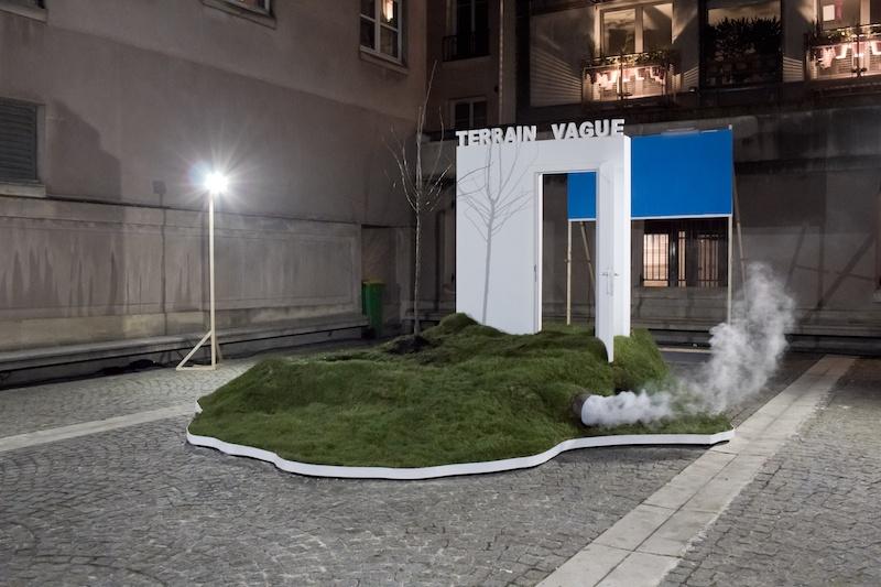 Installation et aire de jeu, Justine Bougerol et Silvio Palomo TERRAIN VAGUE - MODULE 1