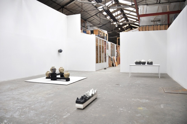 Vue d'ensemble exposition Another less obvious (Un autre moins evident)  de Marion Bocquet-Appel du 11 au 31 janvier 2020,  Ateliers Babiole, Ivry-sur-Seine.  Photo Marion Boquet-Appel
