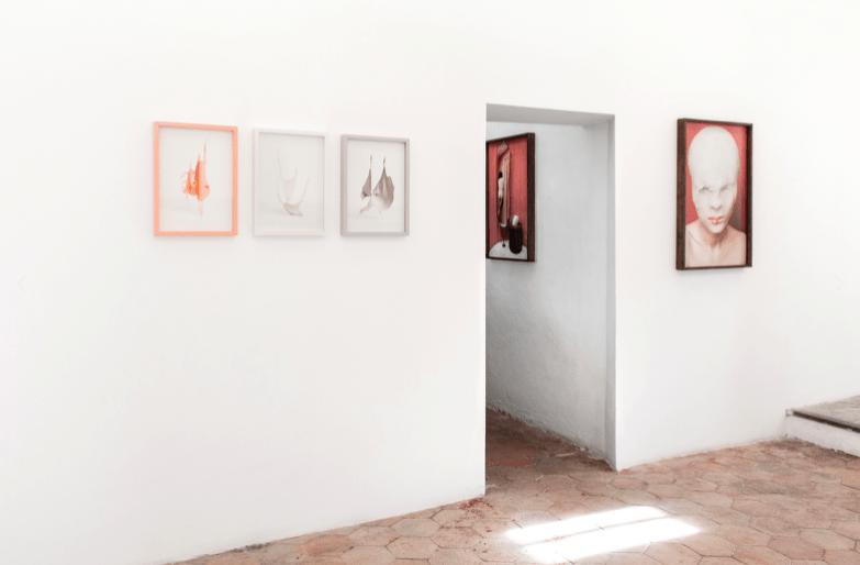 Vue de l'exposition « Blush » à la galerie Sintitulo, janvier-mars 2020. Copyright de l'artiste, courtesy Galerie Sintitulo.