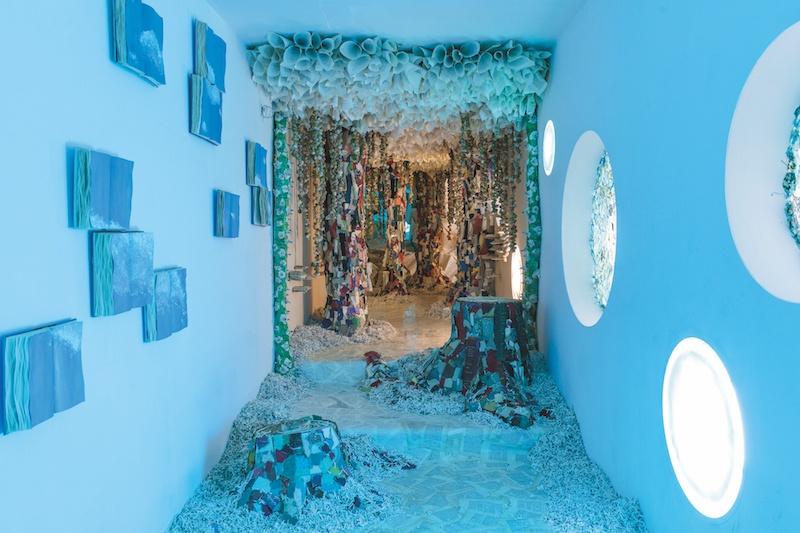 Rachel Marks, Naturae Liber, 2019. Installation. Children's Museum of the Arts New York. Courtesy et photo artiste