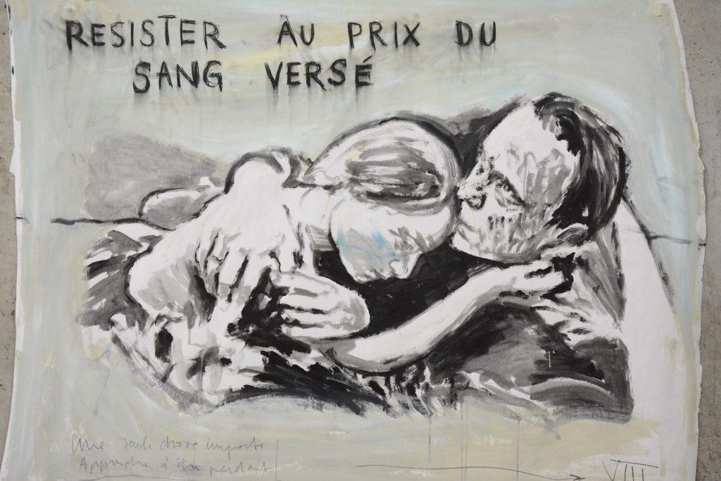 Vue d'exposition La Terre entière pour tombeau de Gabriel Folli jusqu'au 21 février 2020 Le Box Toulouse