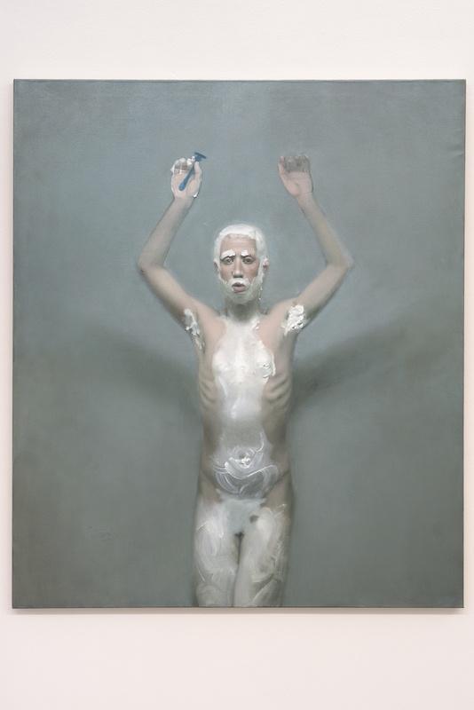 Abel Techer Rite pour d'autres corps huile sur toile 120 x 140 cm 2020 Courtesy Maëlle Galerie Copyright Jérome Michel