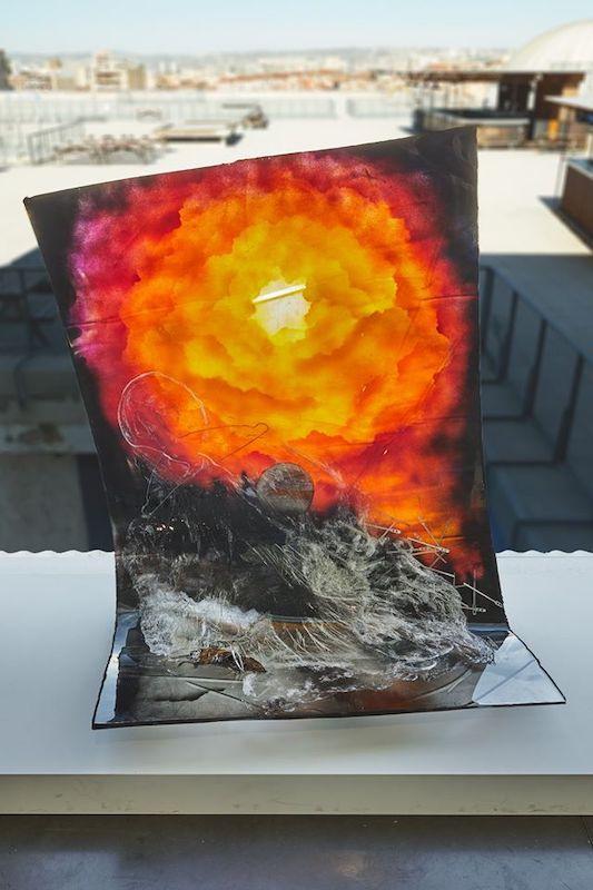 Armand Morin, Posters & Souvenirs - Vue de l'exposition SIGNAL - espace(s) réciproque(s) Friche la Belle de Mai, Marseille Photo Jean-Christophe Lett