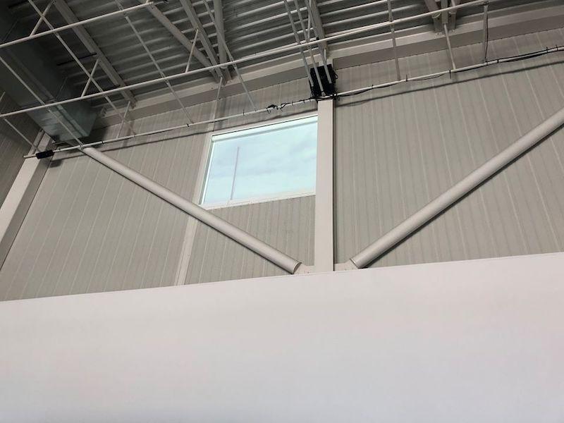 Edith Dekyndt, Une seconde de silence (Partie 1-New York) - Vue de l'exposition SIGNAL - espace(s) réciproque(s) Friche la Belle de Mai, Marseille Photo Jean-Christophe Lett