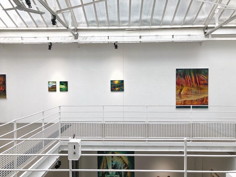 Vue d'exposition Edouard Wolton, Ultima Thulé Courtesy artiste et Galerie Les filles du calvaire