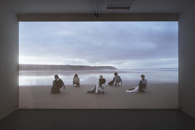L'immensité avec vous, 2020, film, 9'06'' Assistance technique : Auriane Allaire. © Aurélien Mole