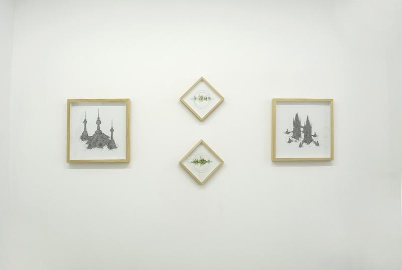 Vue d'exposition Arcadie de Géraud Soulhiol du 05 mars au 07 mai 2020 galerie 22,48m² Paris