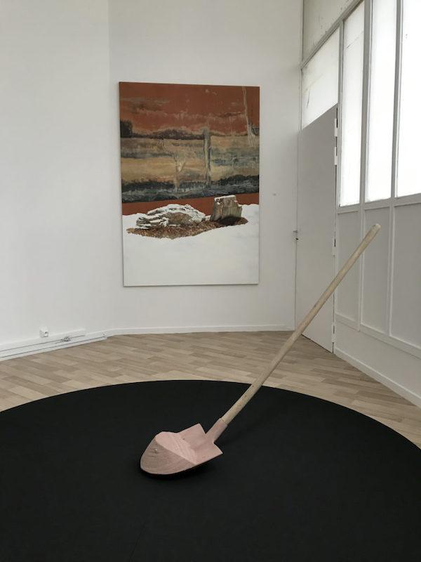 Vue d'exposition La vie silencieuse du 14 mars au 5 avril 2020, CAPA - Centre d'Arts Plastiques d'Aubervilliers Photo Thierry Fournier
