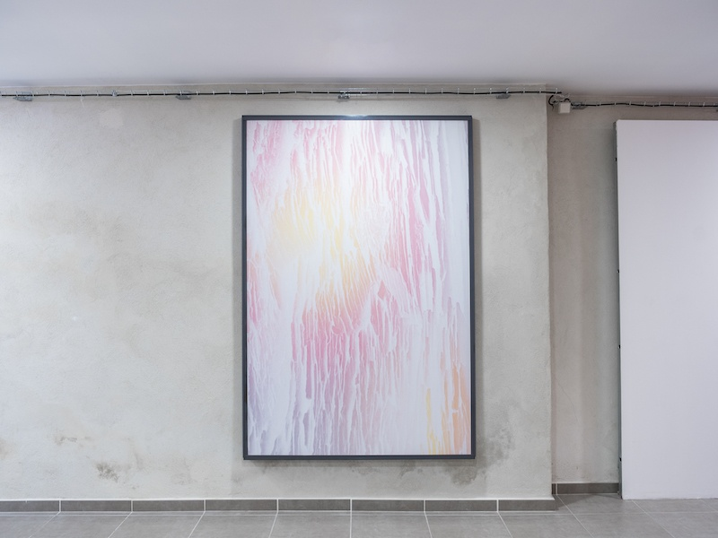 Léo Fourdrinier, Let in the Light, 2020, Impression sur vinyle contrecollé, dibond alluminium – 144 x 212 x 6 cm