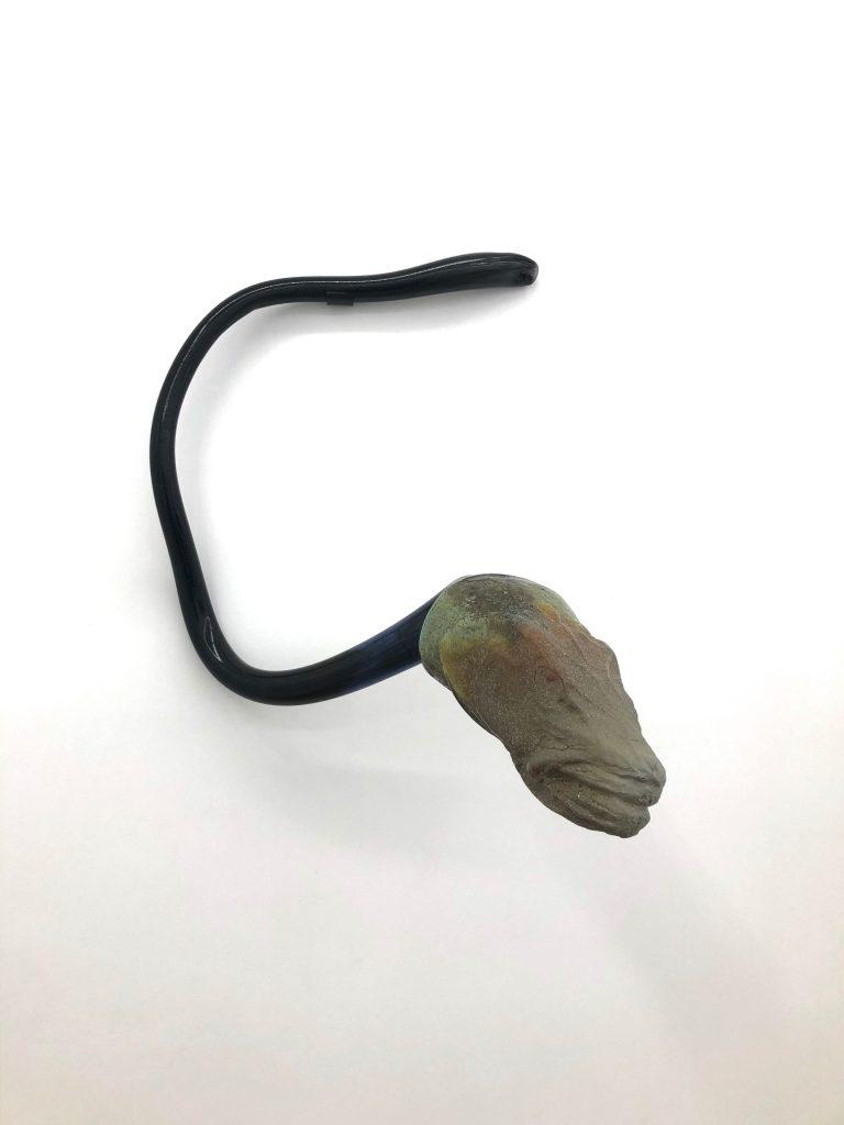 Pia Rondé & Fabien Saleil, Chimère #07, 2020, verre soufflé, 50x60x60cmCourtesy des artistes et de la Galerie Valeria Cetraro